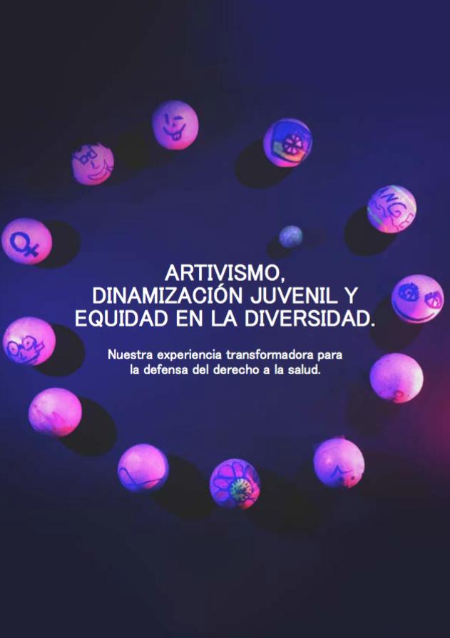 Portada del cuaderno de aprendizajes sobre el proyecto de Educación para el Desarrollo dedicado a jóvenes en Valencia y al derecho a la salud sexual