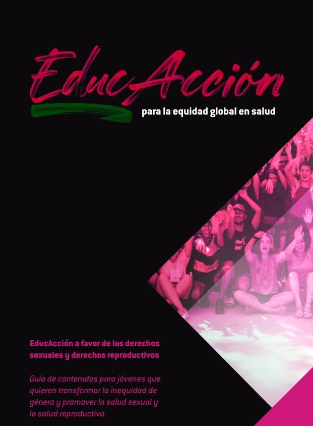 Guía de contenidos incluida en los materiales didácticos del proyecto Educacción
