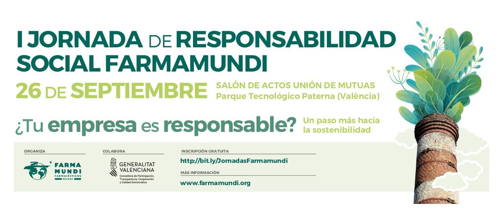 Farmamundi organiza su primera Jornada de Responsabilidad Social en Valencia