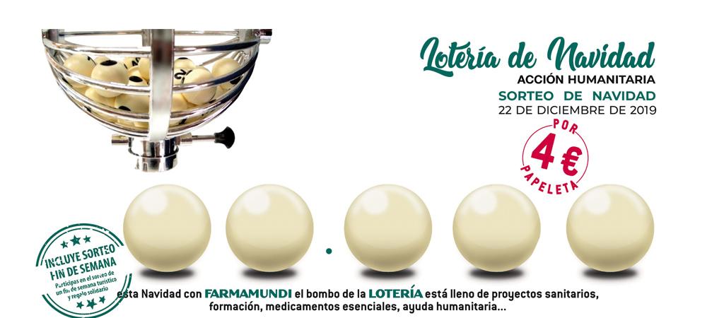 Colabora con Farmamundi mediante la Lotería Solidaria desde tu farmacia