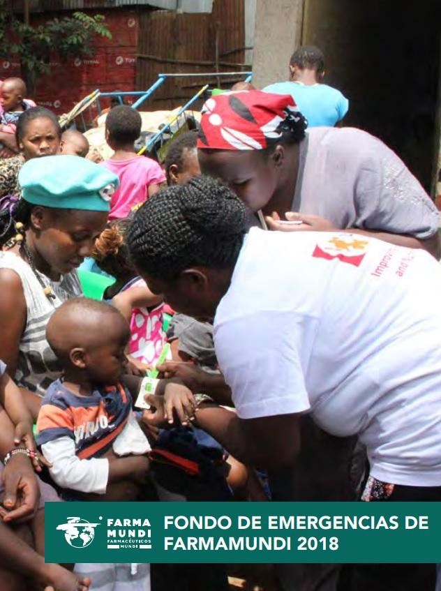 Portada del informe de intervenciones del Fondo de Acción Humanitaria y de Emergencias en 2018