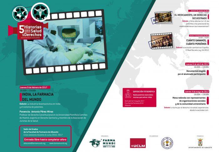 Alumnos de la Facultad de Farmacia de Albacete debaten sobre las patentes y el precio de los medicamentos
