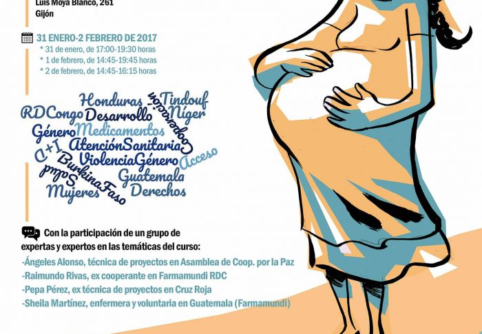 Farmamundi invita a debatir al alumnado gijonés sobre la desigualdad en salud y derechos de las mujeres