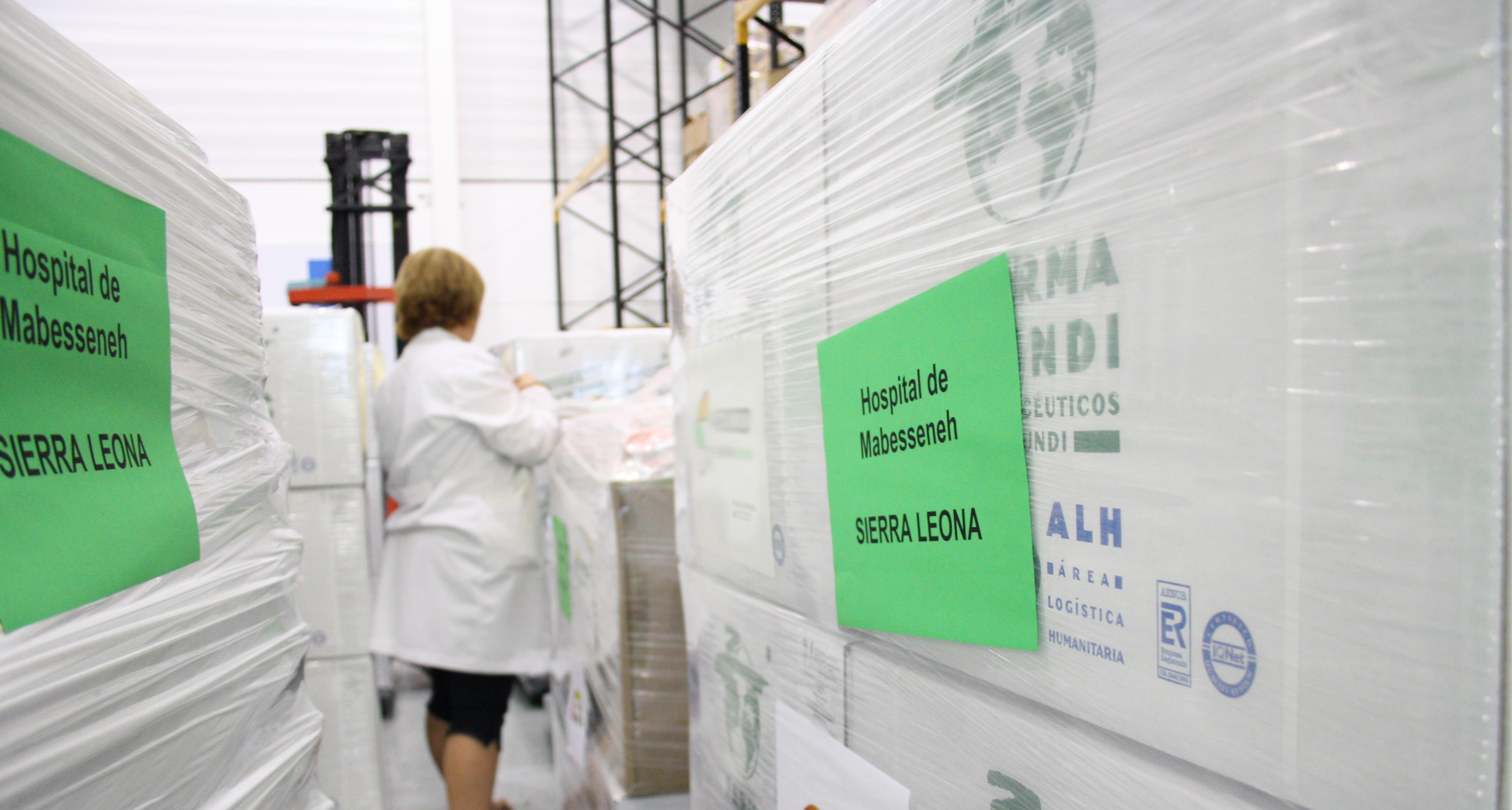 El Área Logística Humanitaria de Farmamundi facilita el acceso a los medicamentos
