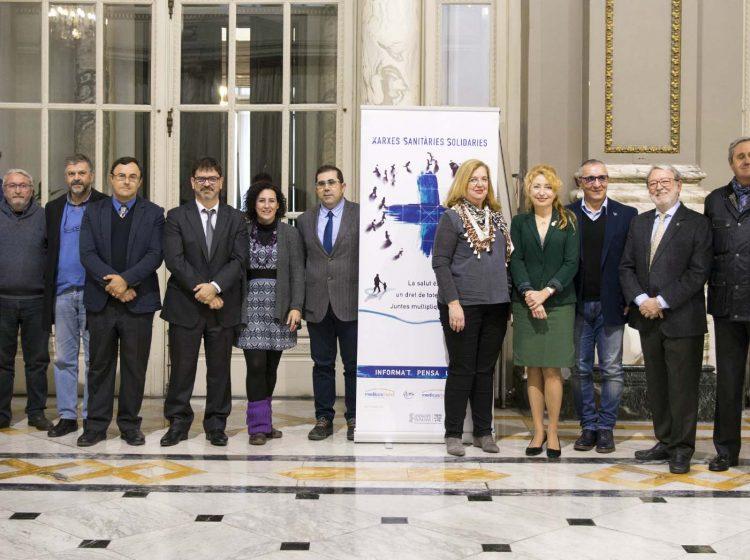 Nace la Red Sanitaria Solidaria de Valencia con el apoyo de trece instituciones que trabajarán en defensa de la salud global