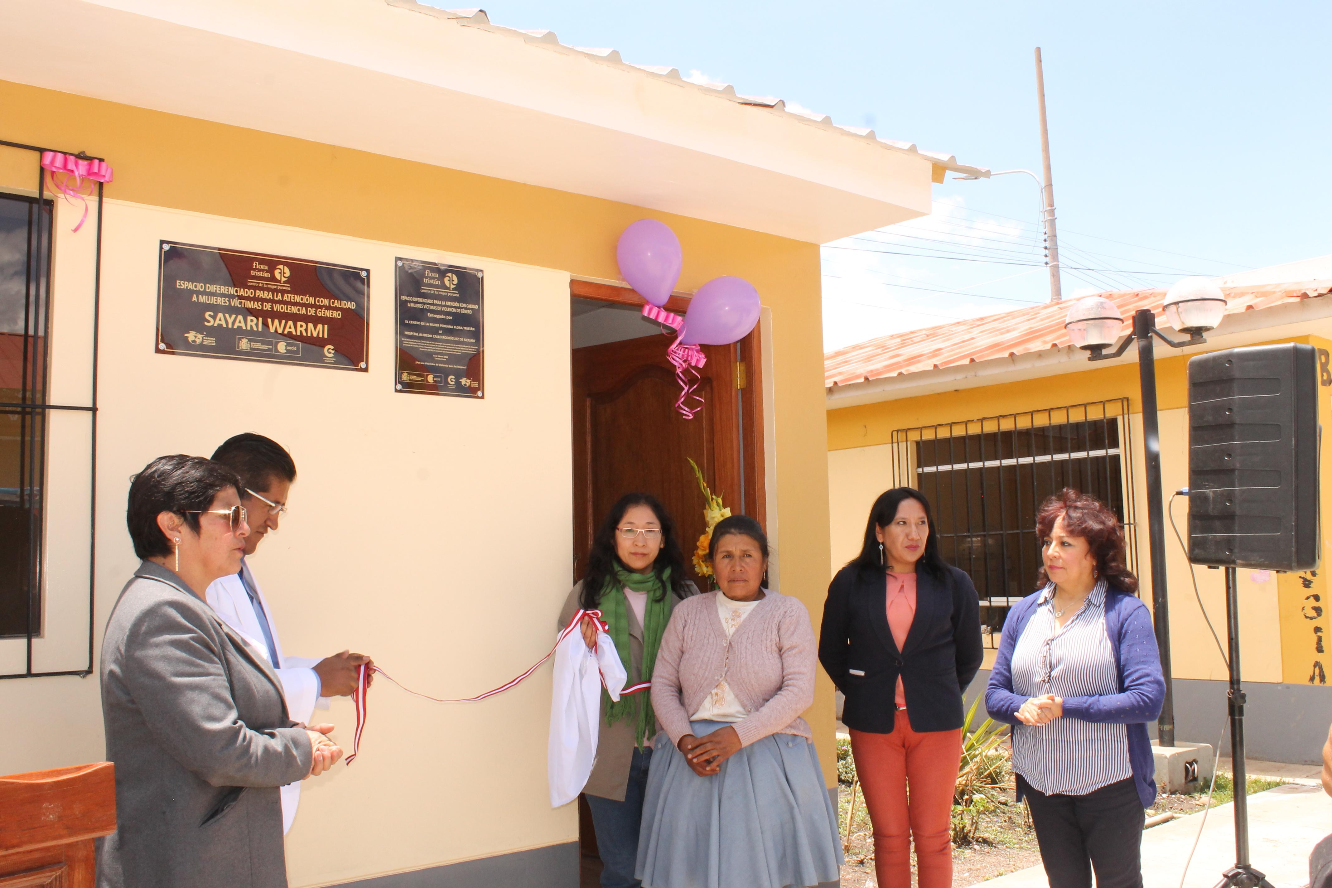 Nuevo centro de atención a mujeres víctimas de violencia de género en Perú