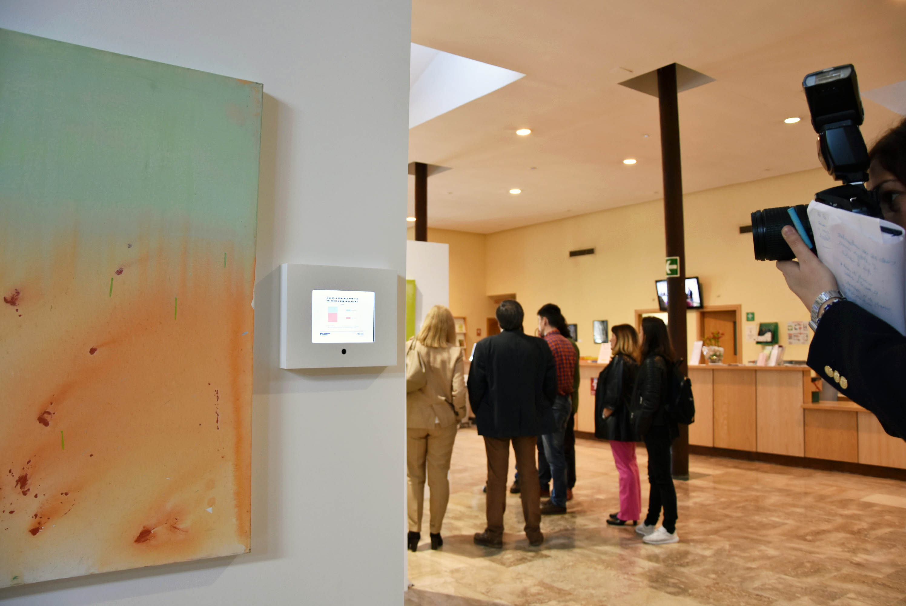 Presentamos en Toledo la exposición 'From abstract to reality'