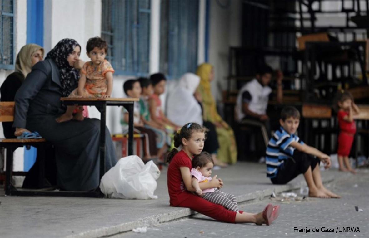 UNRWA Gaza 2014 Firma | Farmamundi