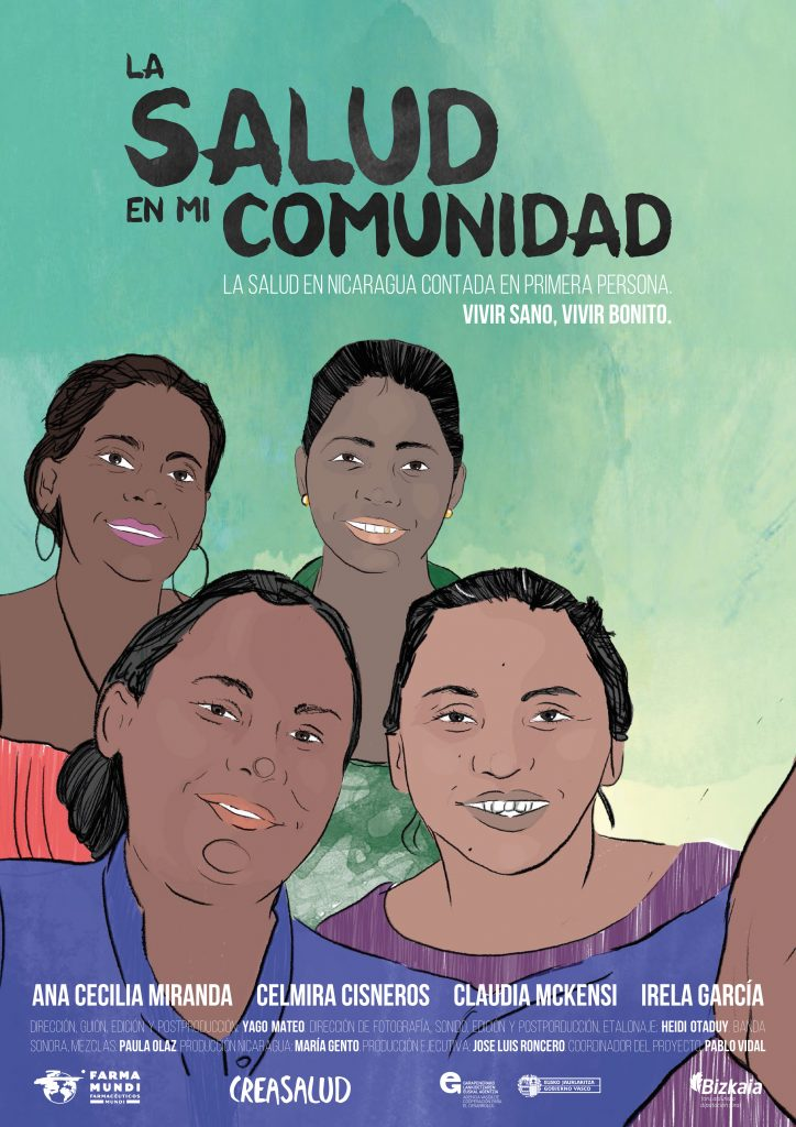 Farmamundi estrena en Euskadi el documental 'La salud en mi comunidad'
