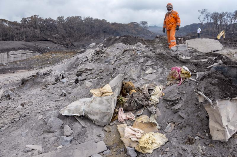 Volcán de Fuego | La prioridad es realojar a las familias afectadas