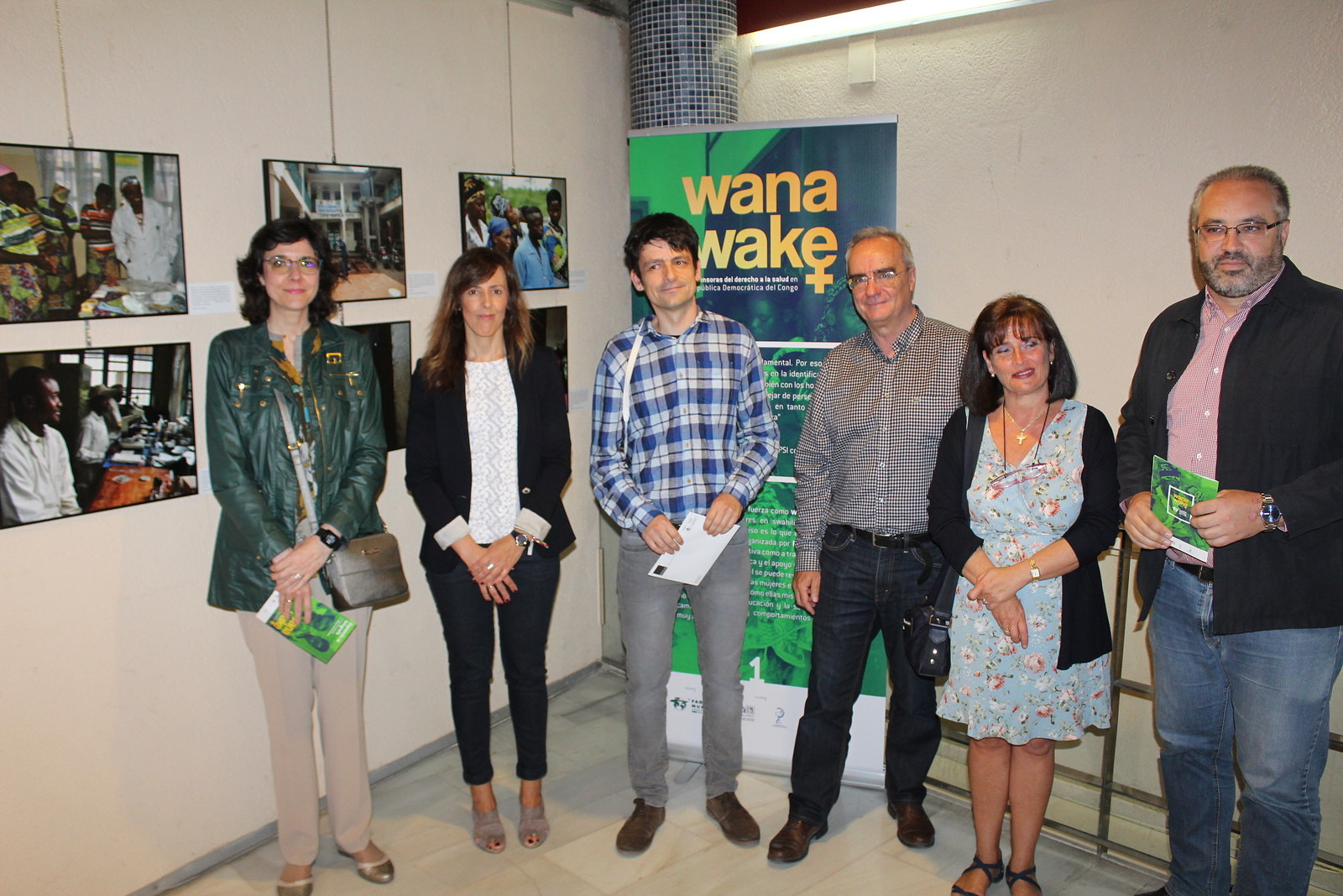 Presentamos en Albacete la exposición sobre derecho a la salud 'Wanawake'