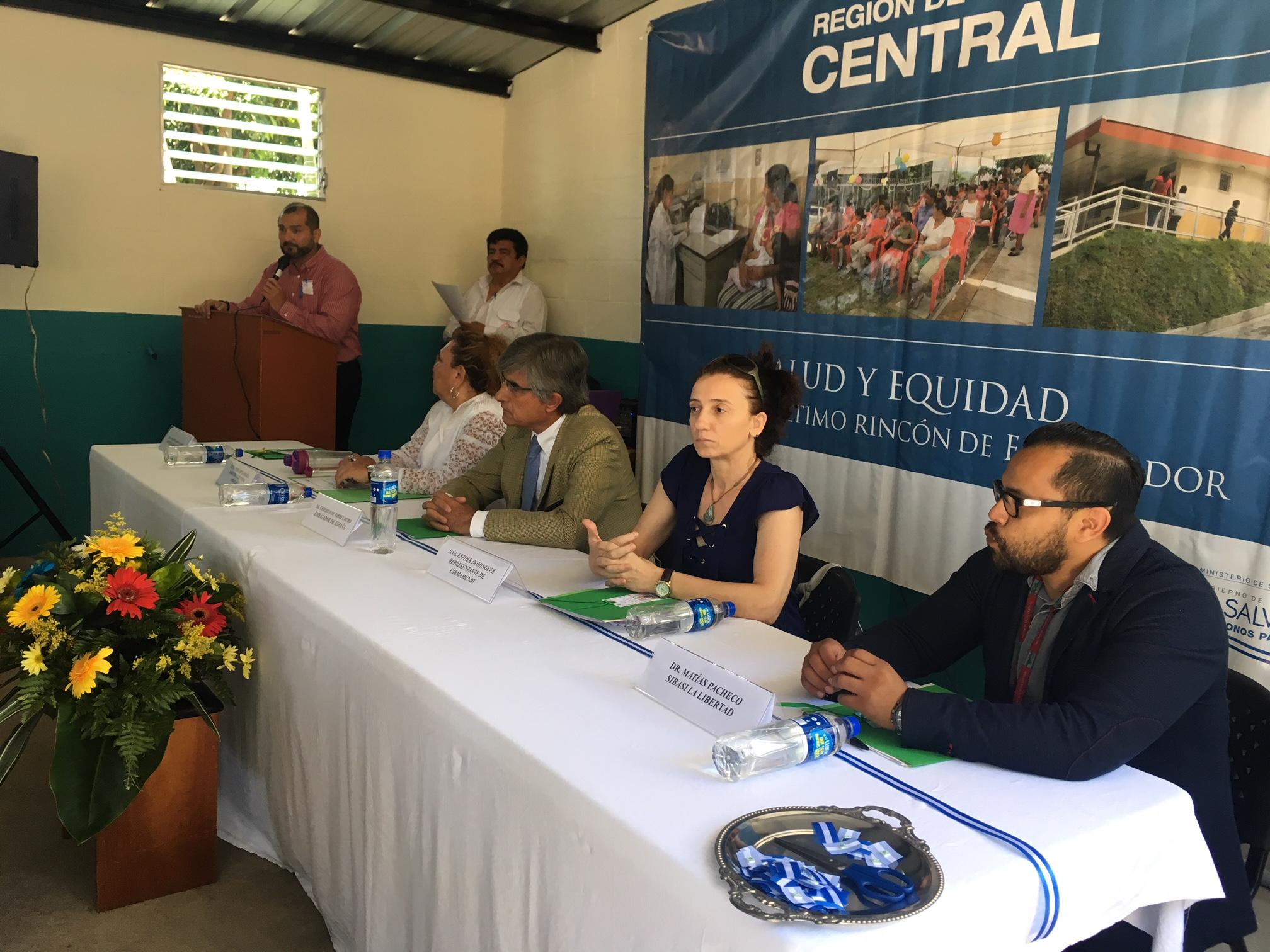 Nuevo espacio de atención integral de la adolescencia en El Salvador