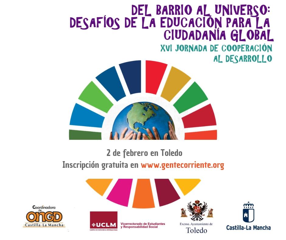 Farmamundi participa en la XVI Jornada de Cooperación al Desarrollo en Castilla-La Mancha