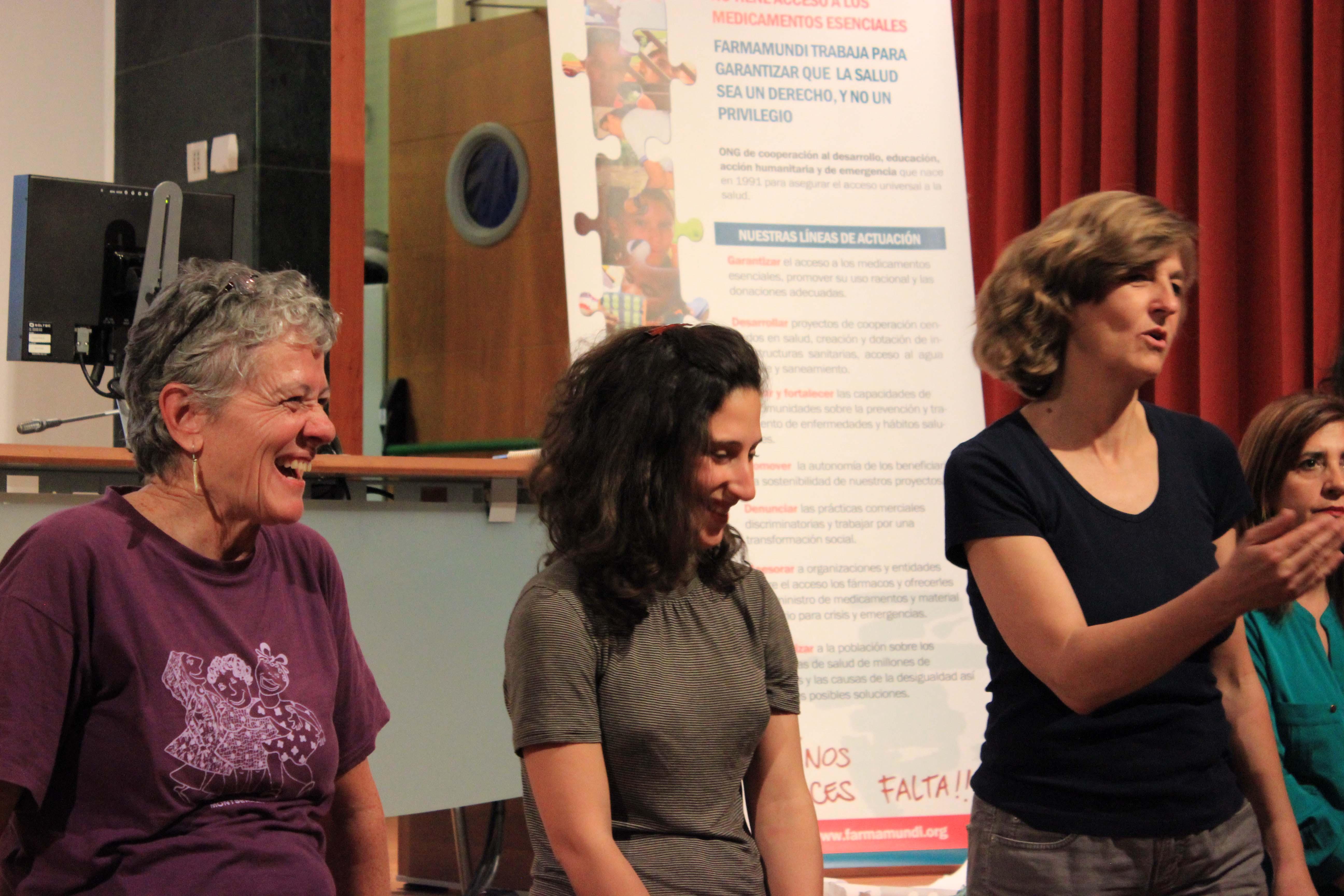 Iniciamos en Andalucía una gira de talleres sobre cooperación y acción humanitaria desde una visión feminista