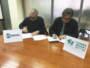 La Asociación Empresarial de Farmacéuticos con Oficina de Farmacia de Valencia (FARVAL) y Farmamundi han firmado un convenio de colaboración