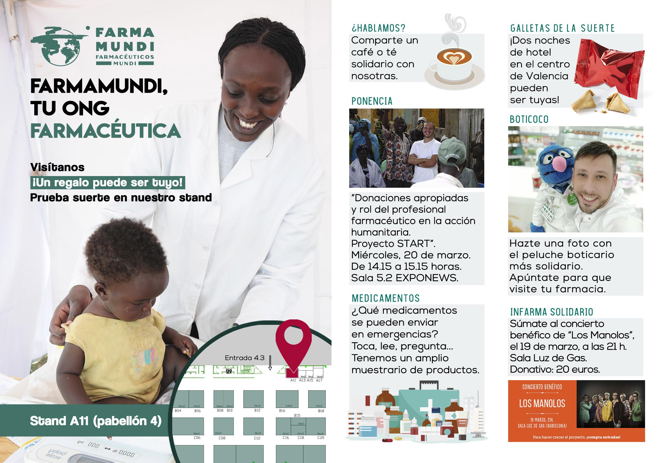 Defendemos en INFARMA el rol de la profesión farmacéutica en la acción humanitaria