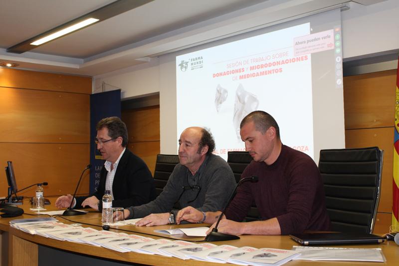 """Presentamos la guía """"Donaciones y microdonaciones de medicamentos"""" en el Colegio Oficial de Farmacéuticos de Zaragoza"""