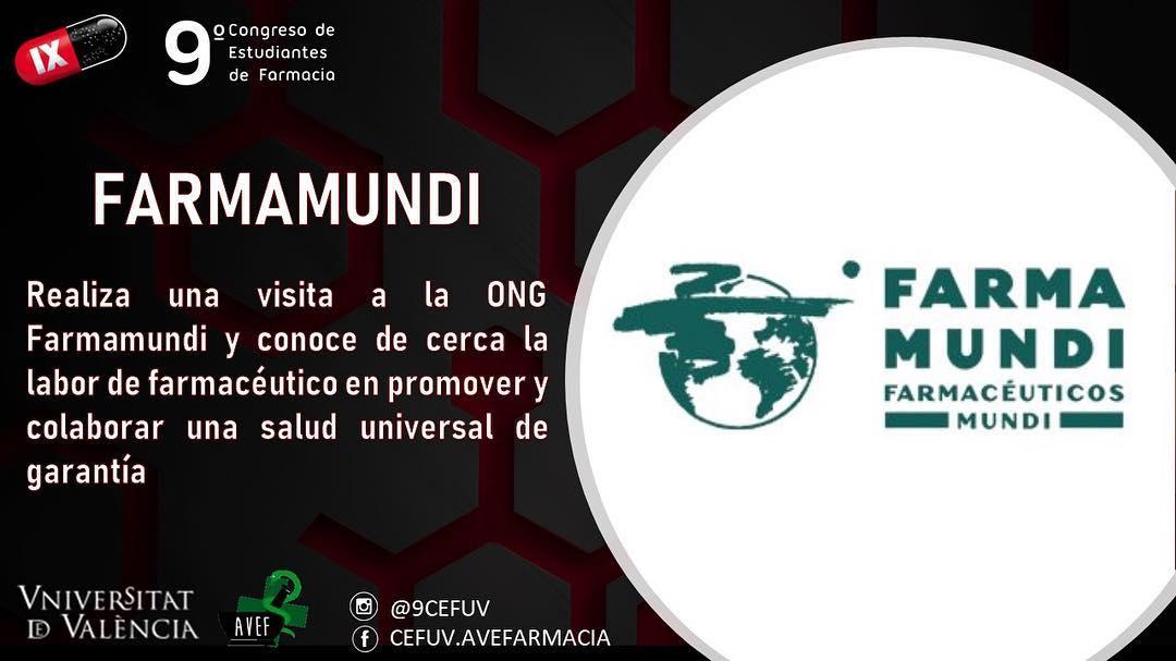 Farmamundi realiza un taller sobre farmacia en el Congreso de estudiantes de farmacia
