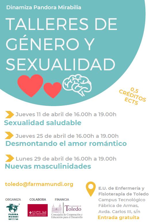 Farmamundi organiza en Toledo talleres de género y sexualidad