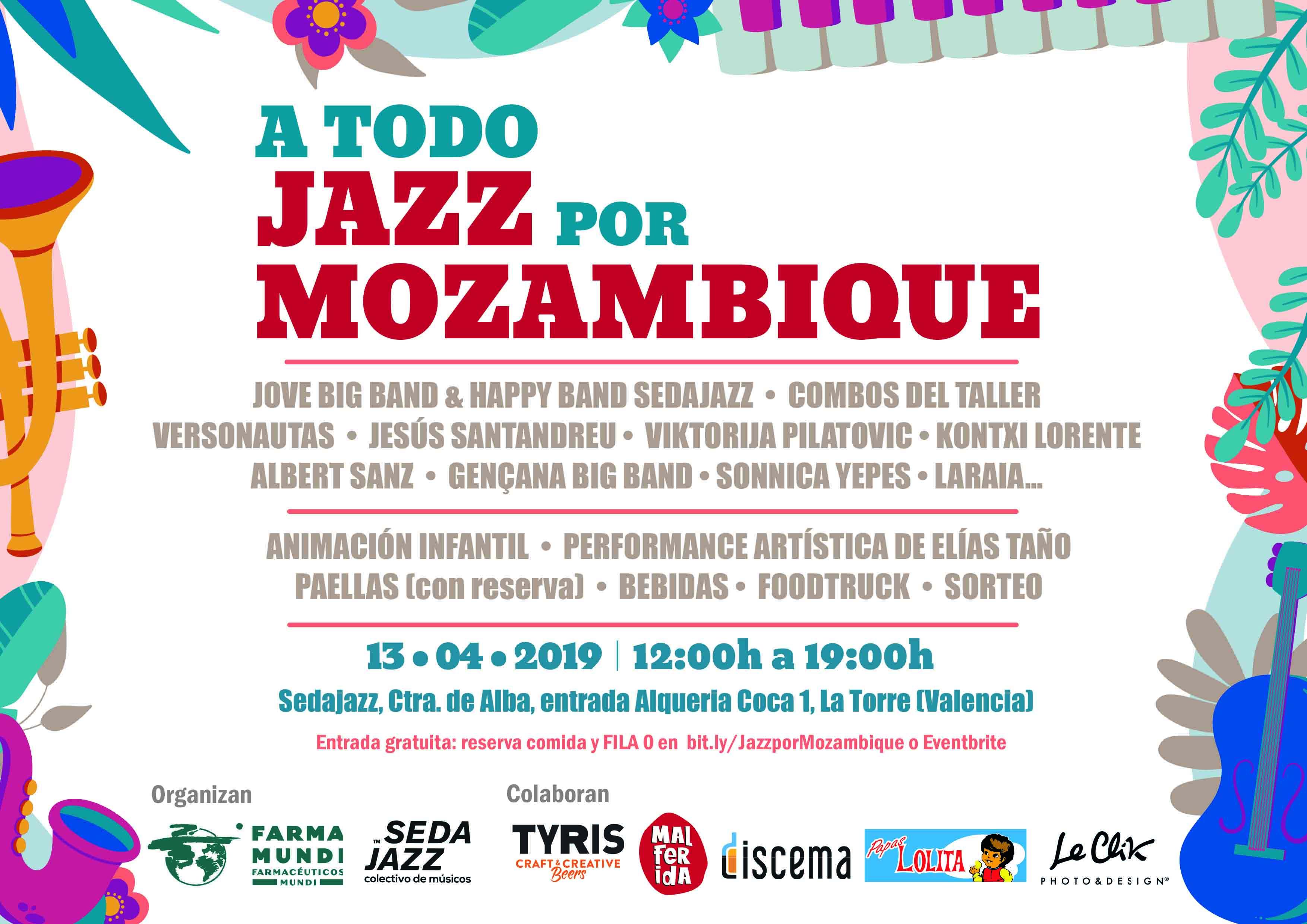 Festival solidario 'A todo jazz por Mozambique'