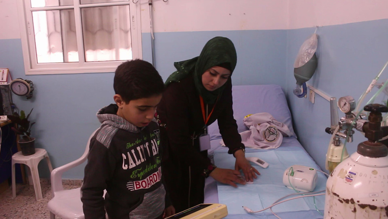 Facilitamos la asistencia sanitaria básica y medicinas a la población de Gaza