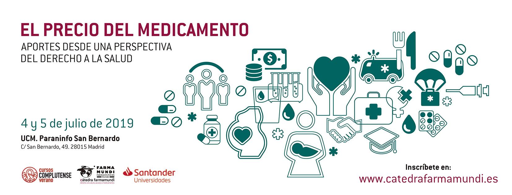 El precio de los medicamentos a debate en el curso de  verano de Farmamundi en la Complutense
