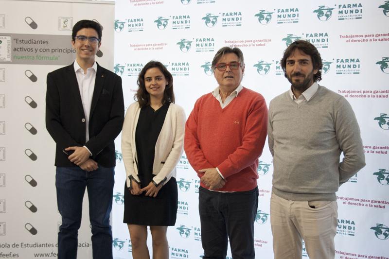 Sumamos esfuerzos con la Federación Española de Estudiantes de Farmacia en defensa de la salud global