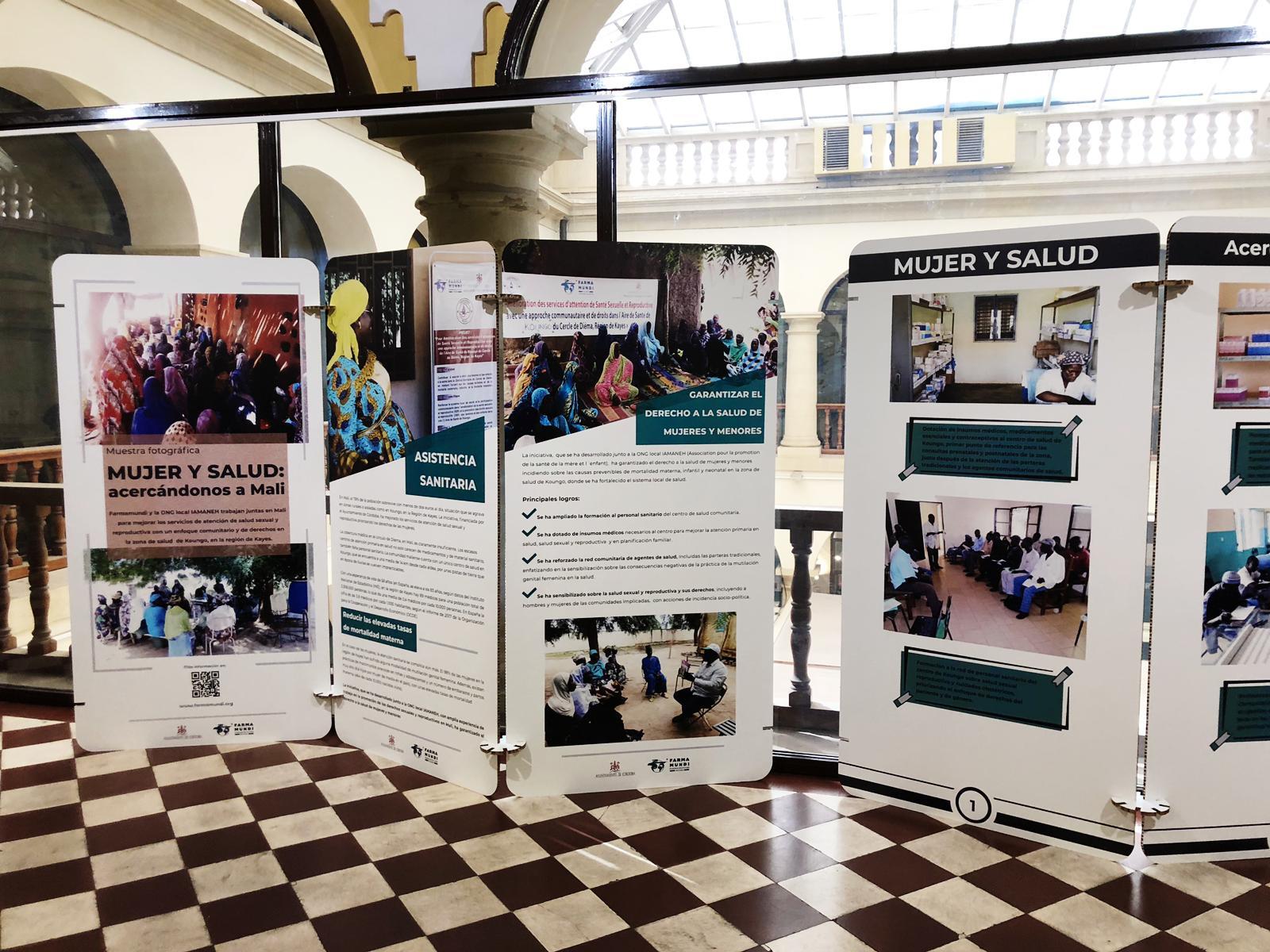 Farmamundi organiza una exposición fotográfica en Córdoba sobre el acceso de la salud de la mujer en Malí