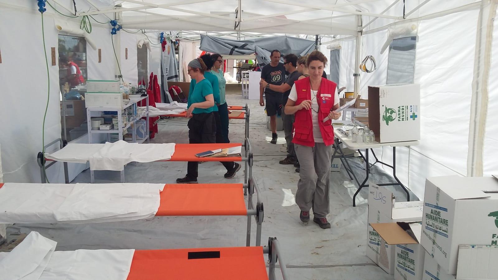 Emergencia Mozambique | Nuevo envío de material sanitario y medicamentos