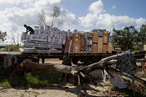 Segundo envío de material sanitario y farmacéutico de Farmamundi a Mozambique