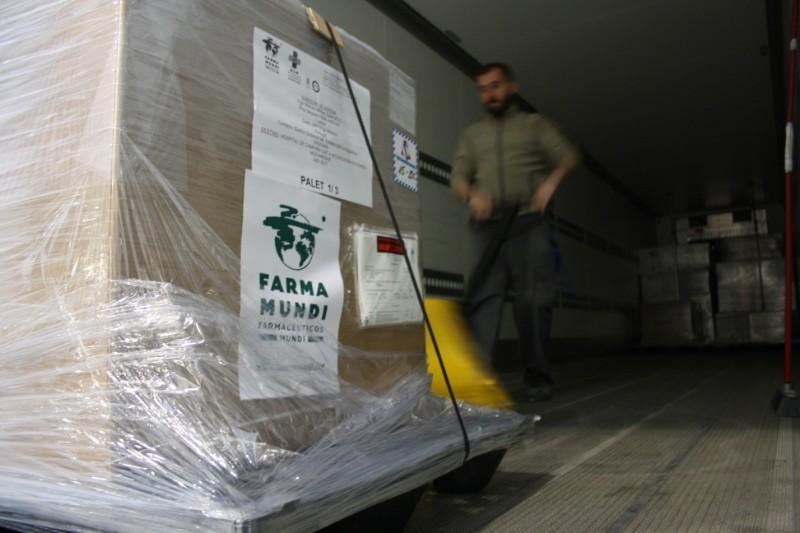 Farmamundi envía una tonelada de material sanitario y medicamentos a Mozambique