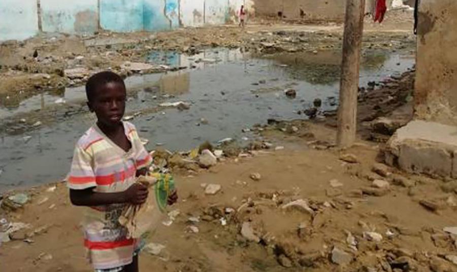 Mosquiteras contra la malaria en Senegal