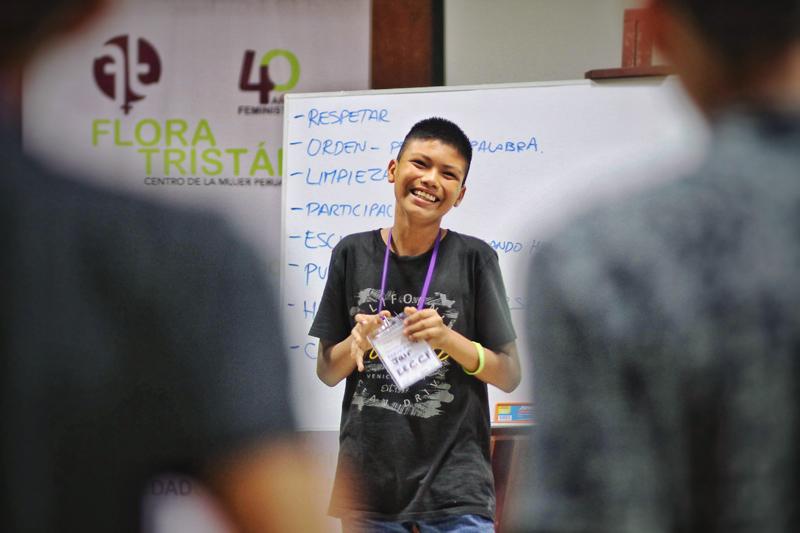 Las personas jóvenes asistentes a esta escuela de interculturalidad han reflexionado sobre la presencia de la violencia de género en su entorno