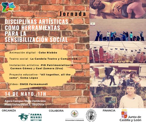 Farmamundi organiza una jornada de disciplinas artísticas en Segovia