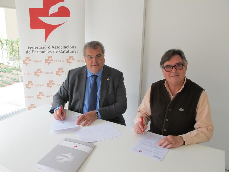 Farmamundi y la Federación de Asociaciones de Cataluña han firmado un acuerdo de colaboración para potenciar la vertiente social de la farmacia