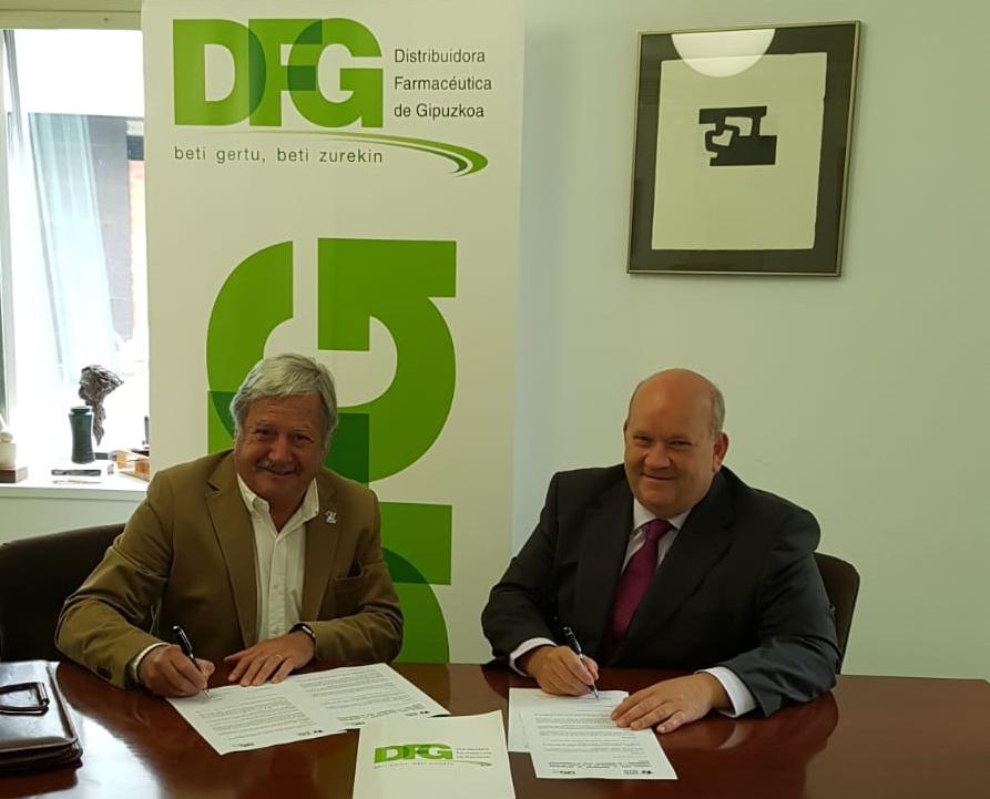 La Distribuidora Farmacéutica Guipuzcoana renueva su contribución al fondo de emergencias
