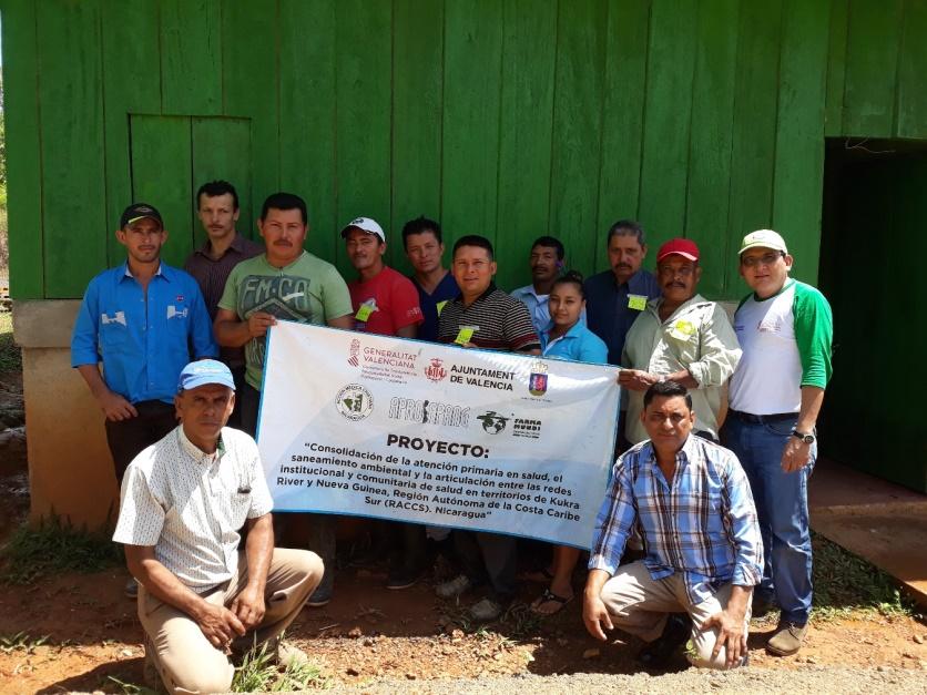Más salud para la comunidad El Limón de Nicaragua
