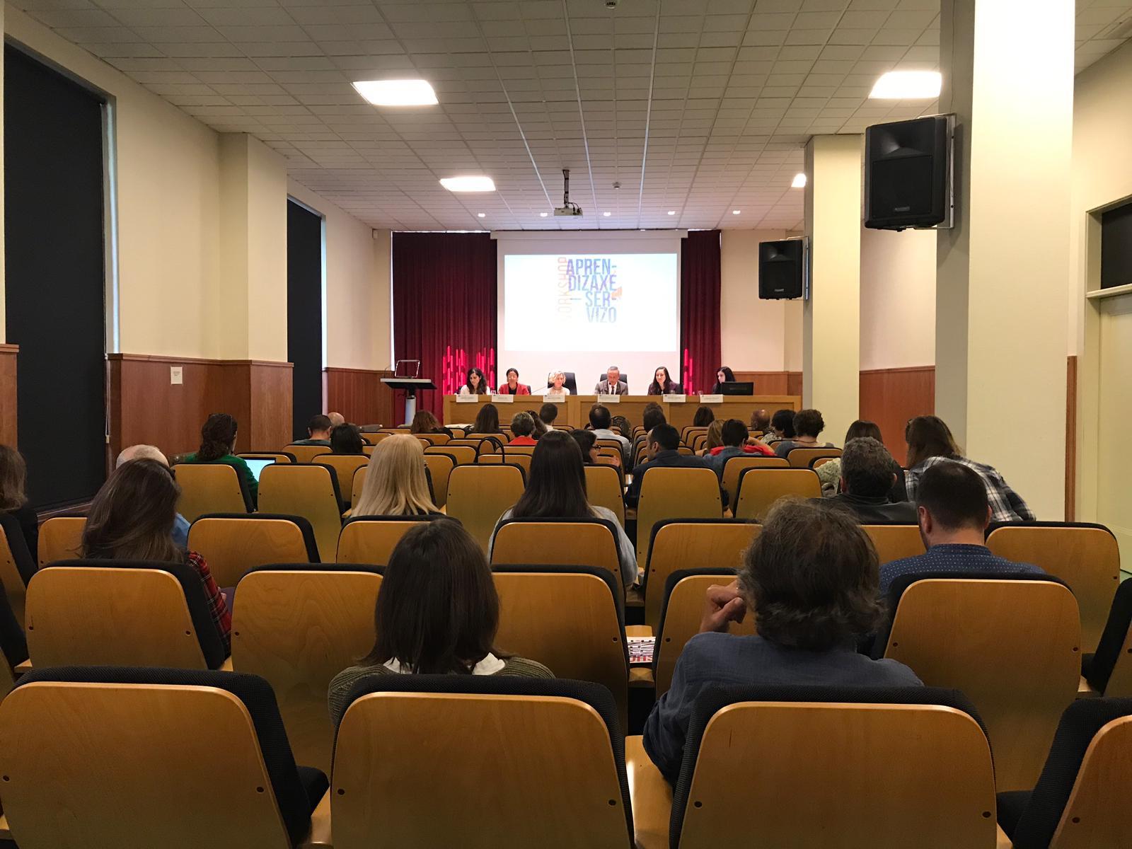 Farmamundi participa en el workshop sobre aprendizaje y servicio organizado por la Universidade de Santiago de Compostela