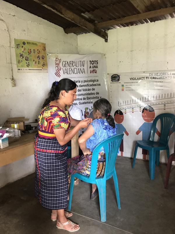 Gracias al convenio de emergencias de la Generalitat Valenciana y Farmamundi, Guatemala pudo recibir micronutrientes para la alimentación infantil