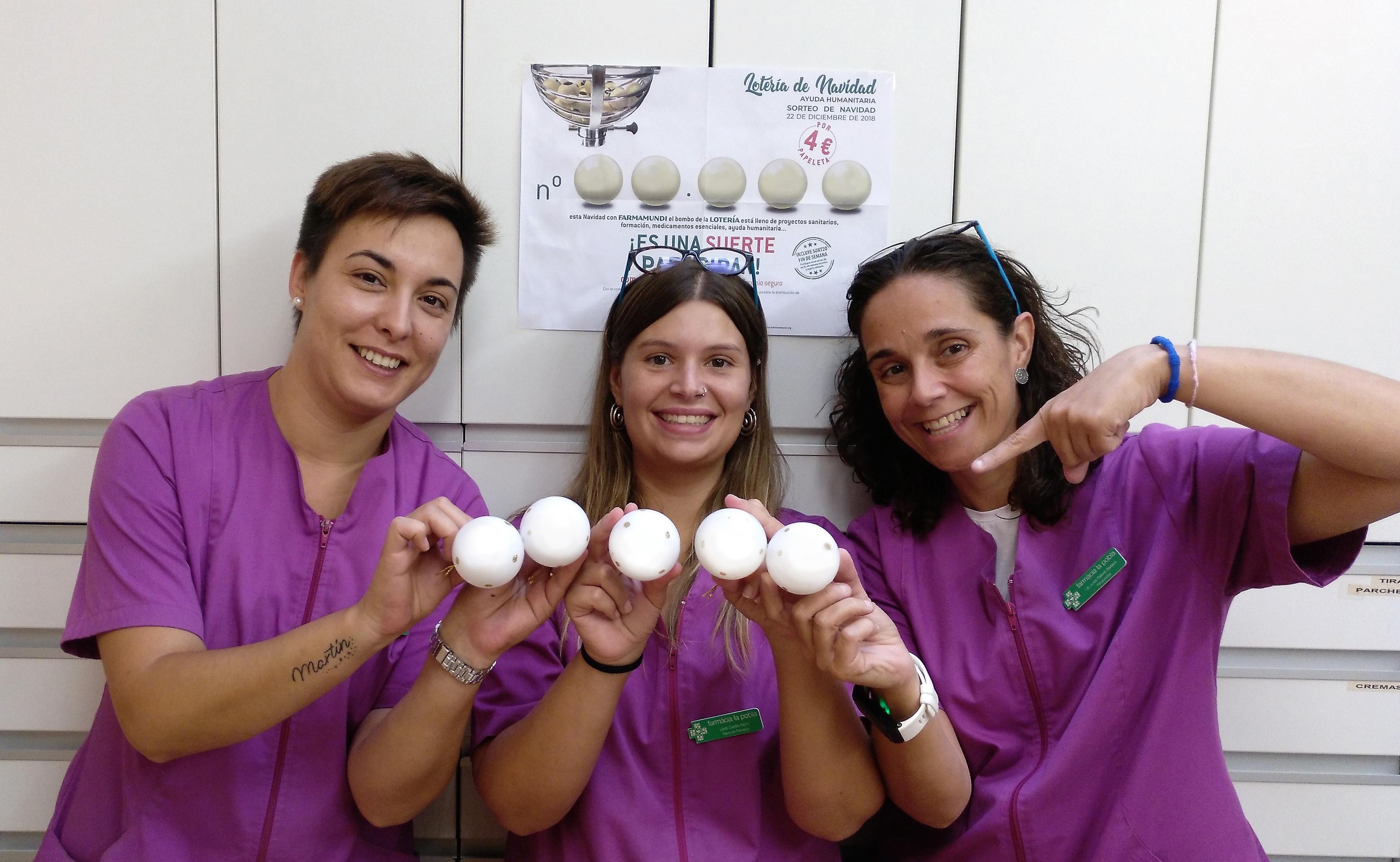 La lotería solidaria de Farmamundi ya reparte salud desde las boticas