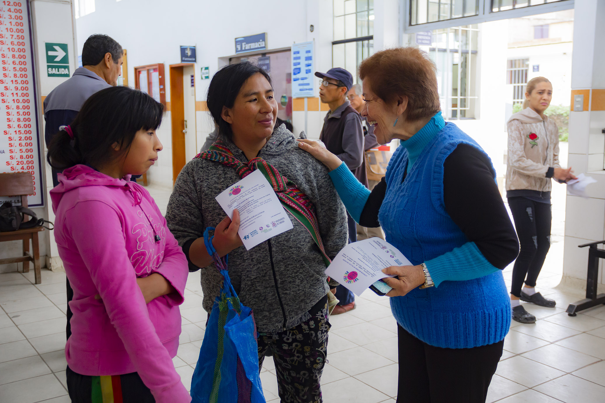 Las mujeres de Villa El Salvador se organizan frente al feminicidio en Lima