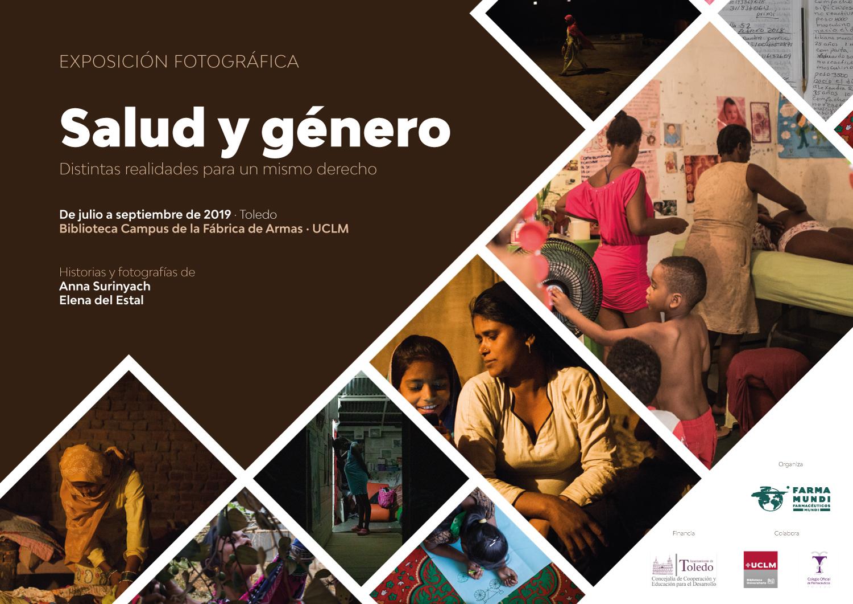 Farmamundi organiza la exposición fotográfica 'Salud y género' en Toledo