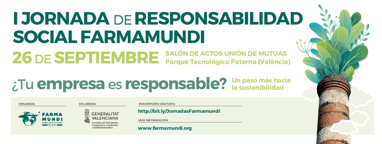 Farmamundi organiza su primera jornada de responsabilidad social en Paterna