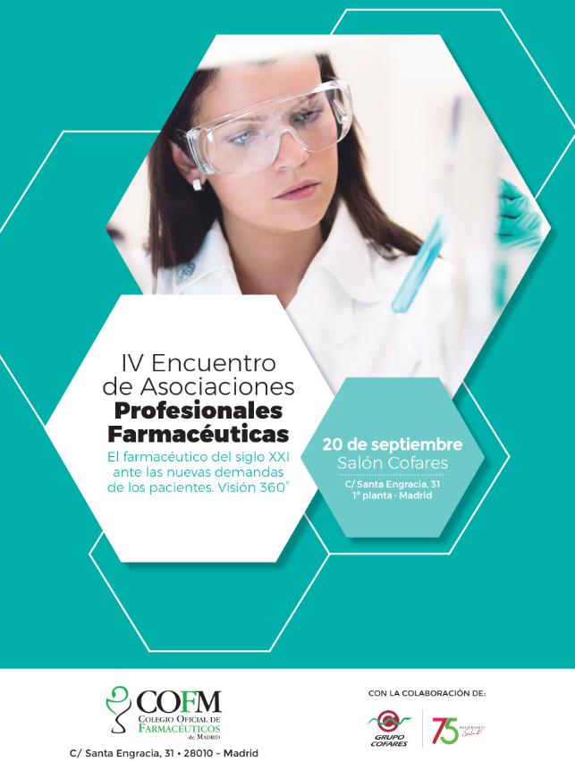 Farmamundi participa en el IV Encuentro de Asociaciones Profesionales Farmacéuticas