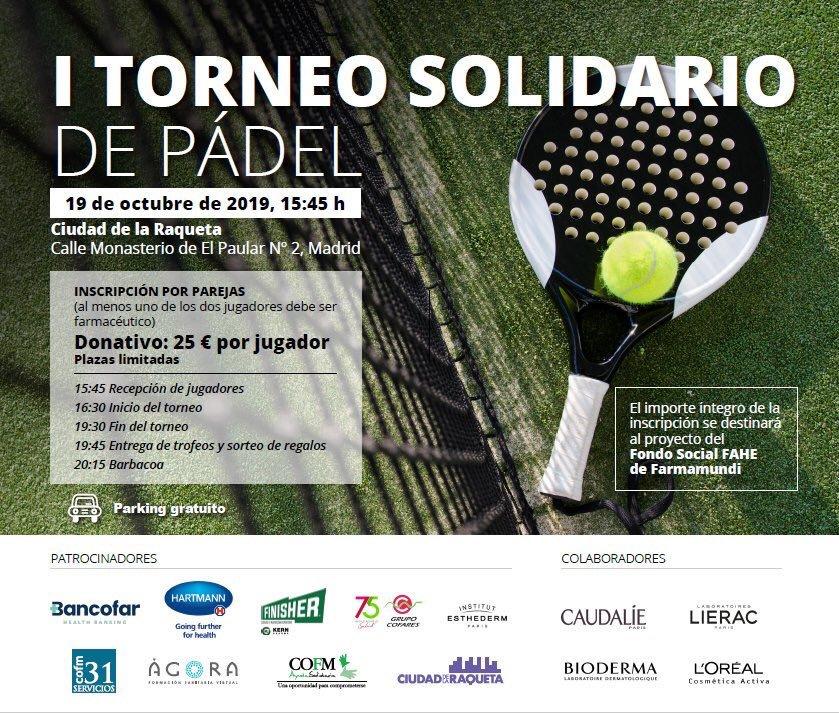 Torneo de pádel COFM