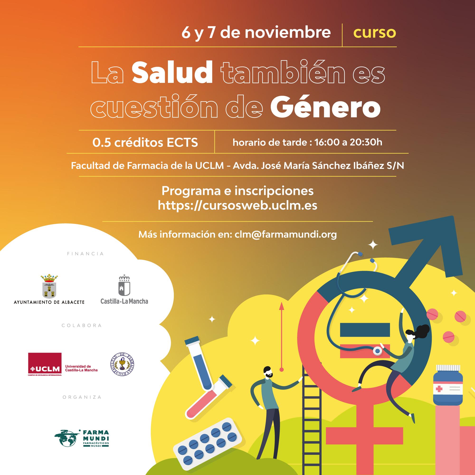 Farmamundi organiza el curso La salud también es cuestión de género en Albacete