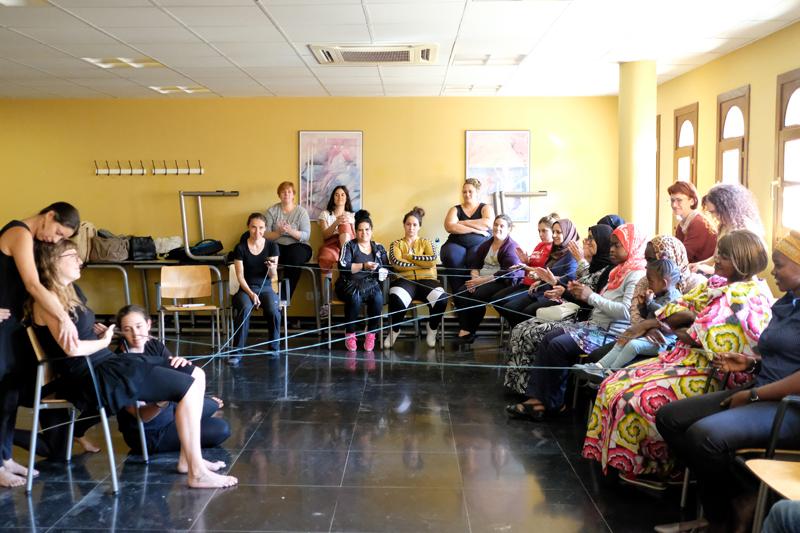 Farmamundi ha realizado un taller de teatro para acercar el derecho a la salud en Huesca