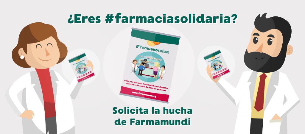 Farmamundi presenta la nueva hucha solidaria