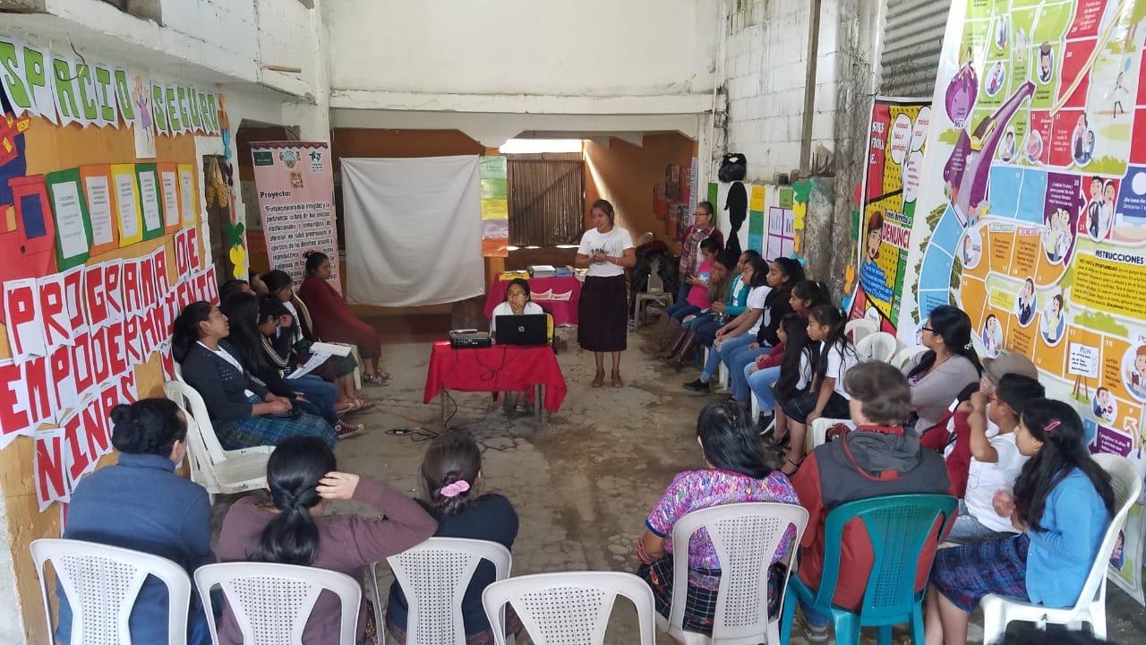 Promovemos el ejercicio de los derechos sexuales y reproductivos de las mujeres indígenas en Huehuetenango
