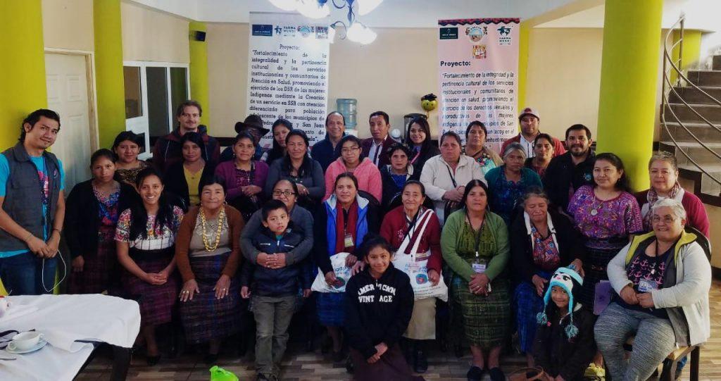 visita de javier serrano de la agencia andaluza a Guatemala